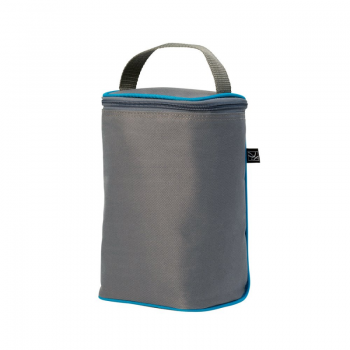 JL Childress - Twocool Double Bottle Cooler - Grey/Teal