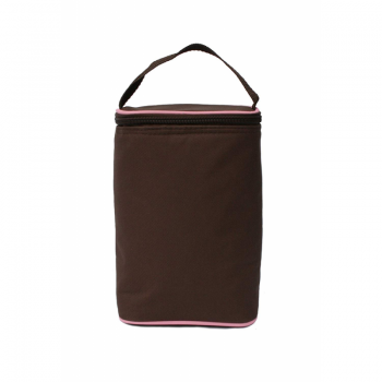 JL Childress - Twocool Double Bottle Cooler - Cocoa/Pink