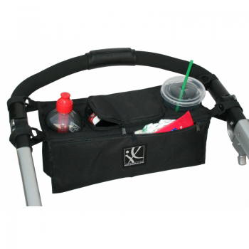 JL Childress - Sip 'N Safe Console Tray - Black