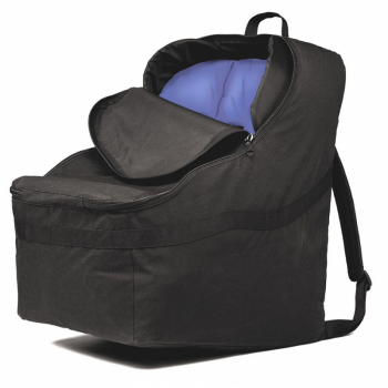 JL Childress - Ultimate Car Seat Travel Bag for Newborn and Above - Black