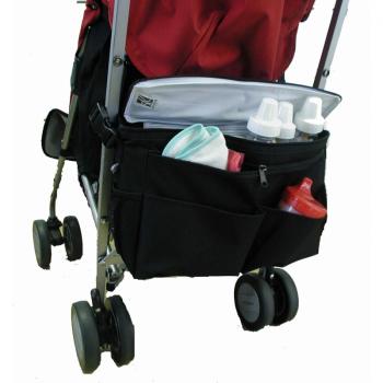 JL Childress - Cool 'N Cargo Stroller Cooler - Black