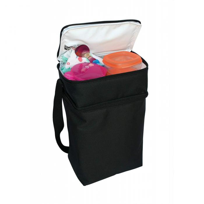 JL Childress - 6 Bottle Cooler Tote Bag - Black 3