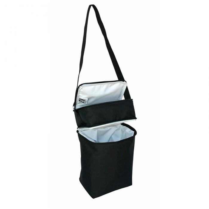JL Childress - 6 Bottle Cooler Tote Bag - Black 4