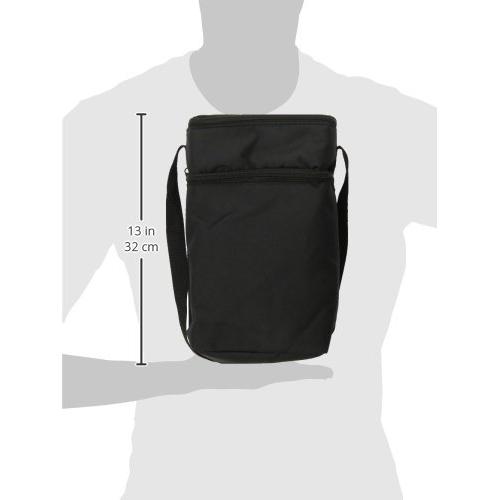 JL Childress - 6 Bottle Cooler Tote Bag - Black 8