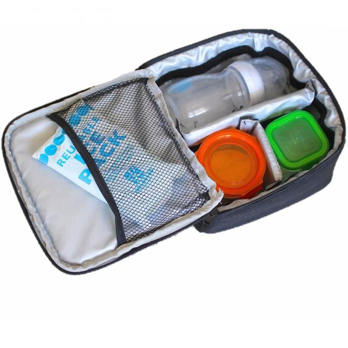 JL Childress - Cooler Cube Food and Bottle Bag - Black 2