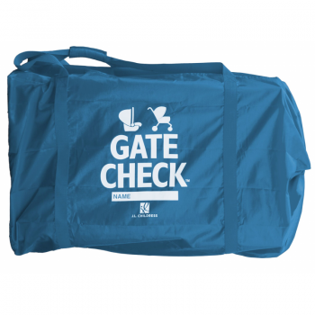 JL Childress - Deluxe Gate Check Travel Bag for Car Seats and Strollers - Blue