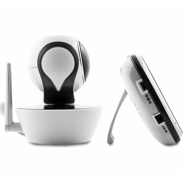 Motorola - MBP853 Connect Wi-Fi HD Digital Video Baby Monitor - White 9