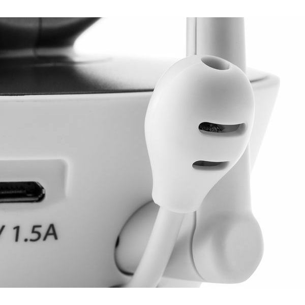 Motorola - MBP853 Connect Wi-Fi HD Digital Video Baby Monitor - White 10