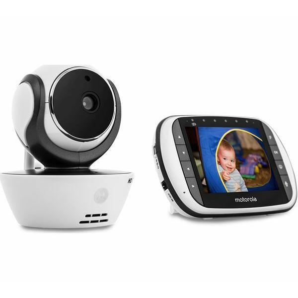 Motorola - MBP853 Connect Wi-Fi HD Digital Video Baby Monitor - White 7