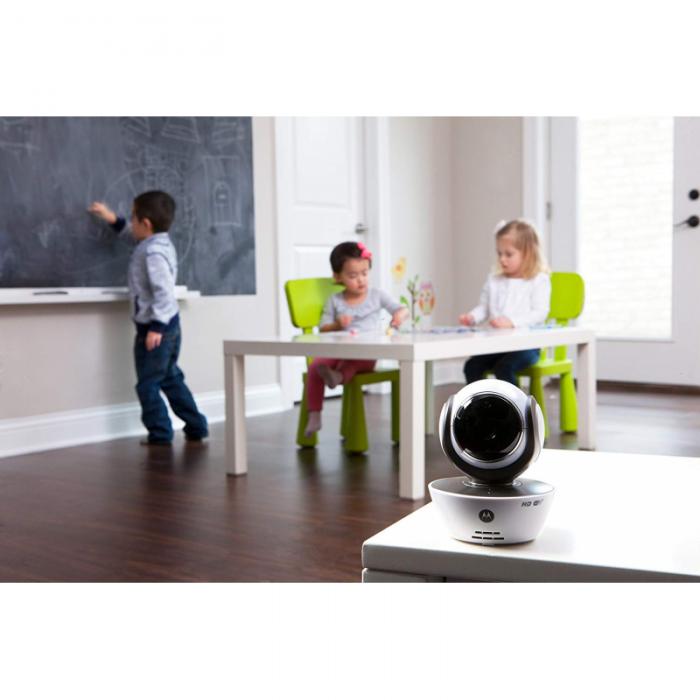 Motorola - MBP85 Connect Baby Monitor - White/Black 3