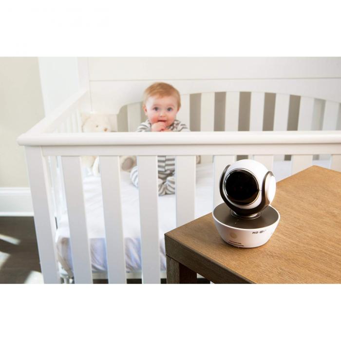 Motorola - MBP85 Connect Baby Monitor - White/Black 4