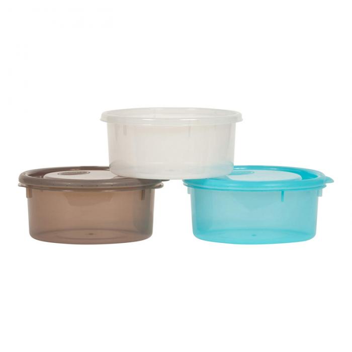 Bo Jungle - B-Bowls Feeding and Storage Bowls with Lids - 3pk