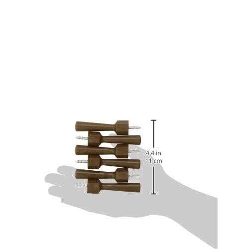 Mommy's Helper - Door Stops (Pack of 6) - Brown 4