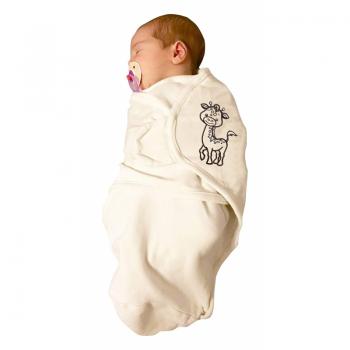 Bo Jungle - B-Wrap Swaddle Blanket (Large) - Organic Giraffe