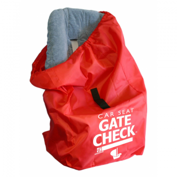 JL Childress - Gate Check Bag for Car Seats for Newborn and Above - Red