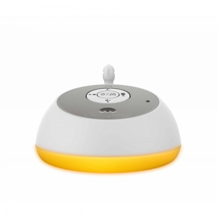 Motorola - MBP161 Timer Digital Audio Baby Monitor with Baby Care Timer - White 3
