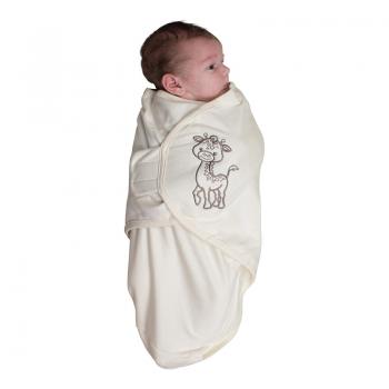Bo Jungle - B-Wrap Swaddle Blanket (Small) - Organic Giraffe