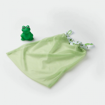 Mommy's Helper - Froggie Collection Tidy Bath Toy Bag - Green