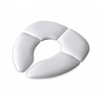 Mommy's Helper - Cushie Traveller Padded Toilet Training Seat - White