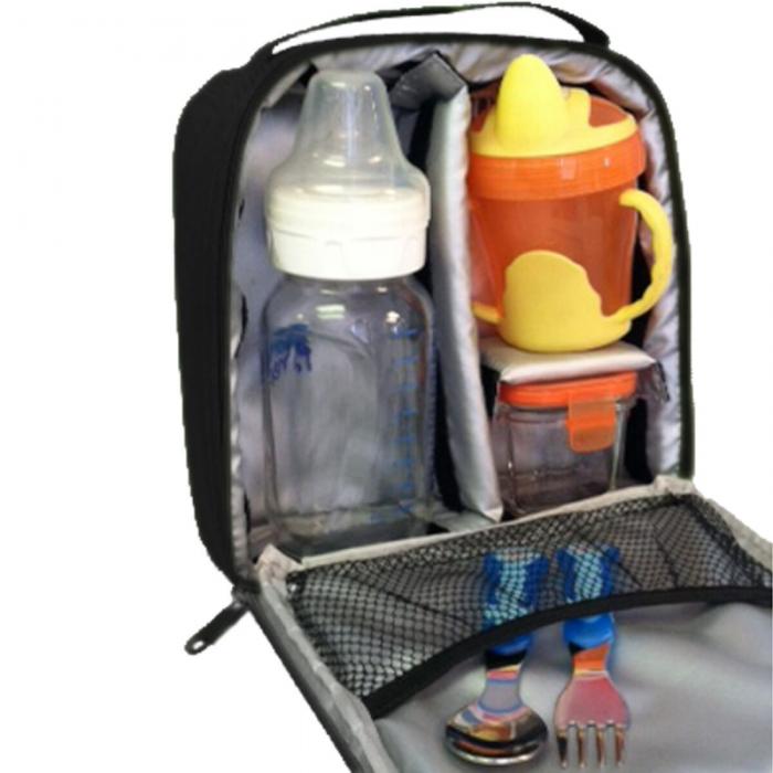 JL Childress - Cooler Cube Food and Bottle Bag - Black 5